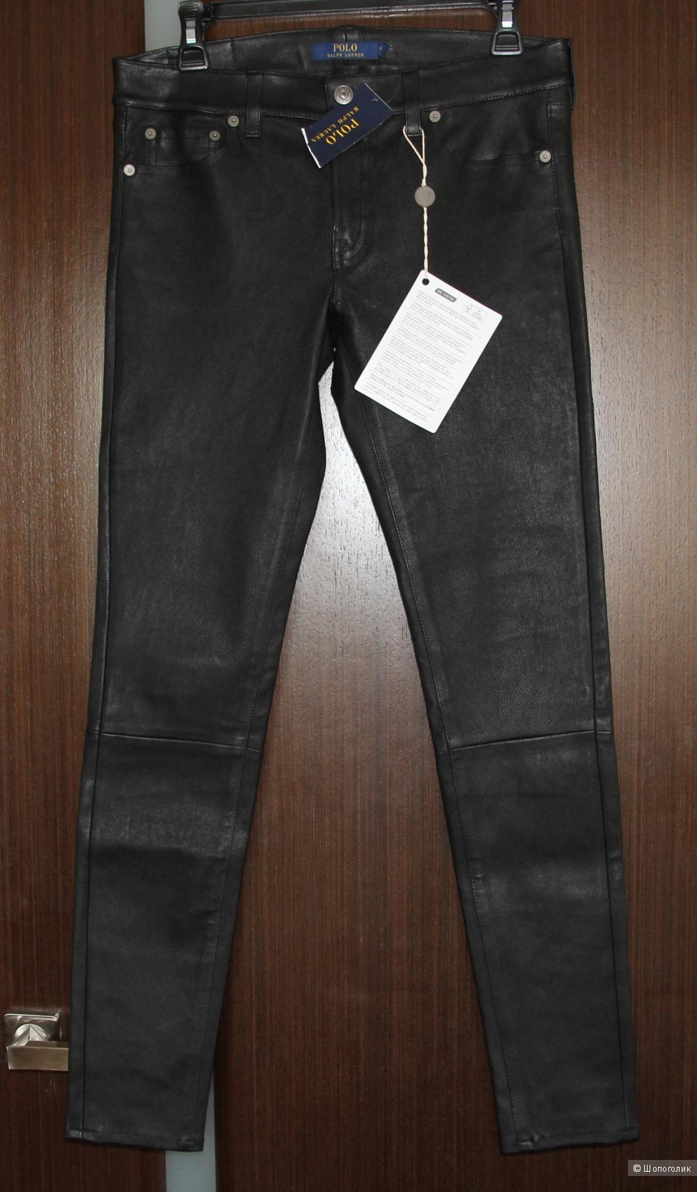 Кожаные брюки Polo Ralph Lauren, 8US