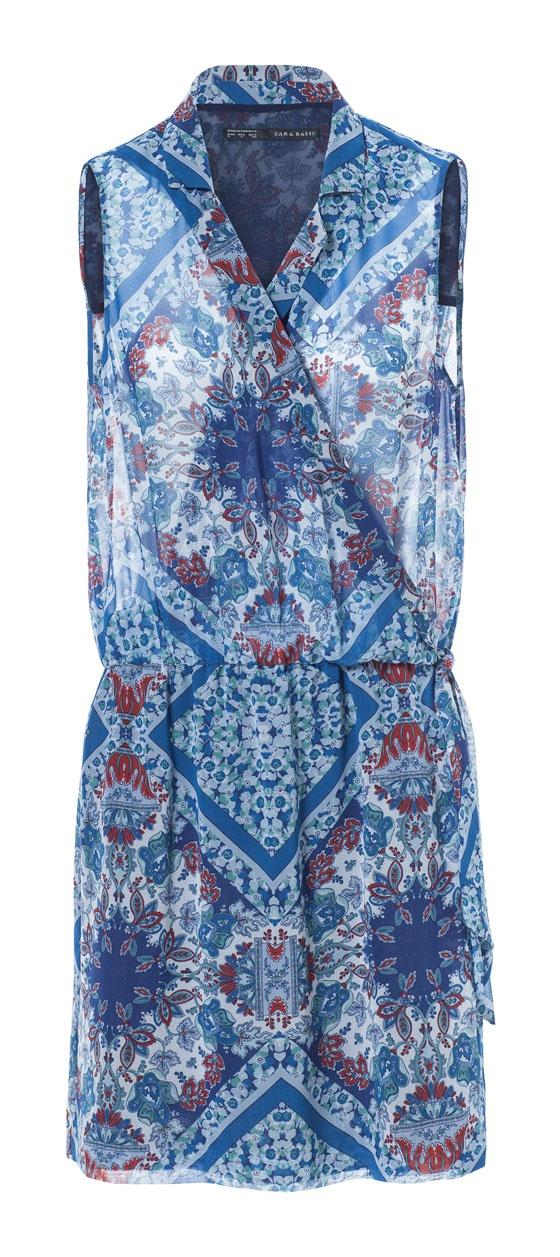 Платье ZARA basic размер XS