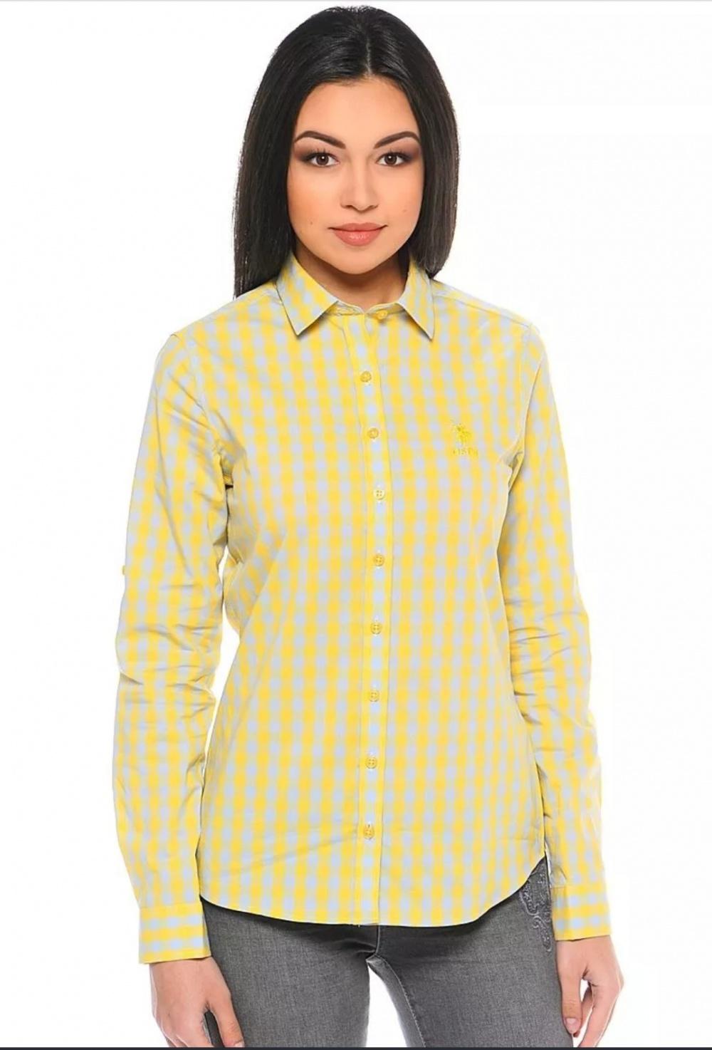 Рубашка U.S. Polo ASSN, 42-44 росс.