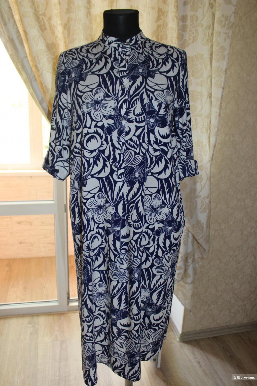 Платье-рубашка zarа, размер m