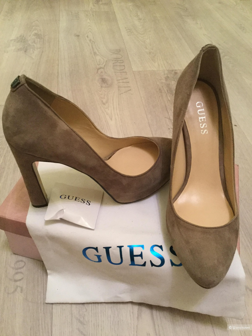 Туфли Guess, 38 размер