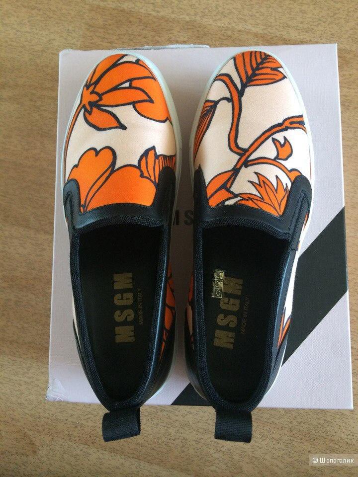 Кеды и кроссовки MSGM, 38 размер