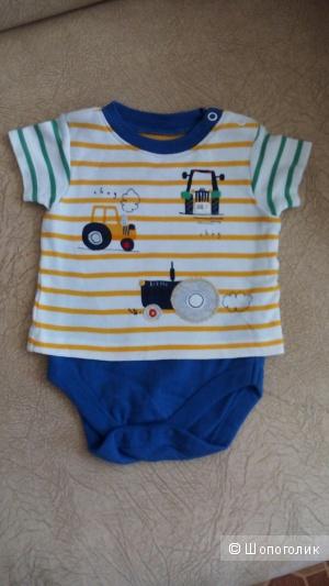 Боди для мальчика Mothercare, размер 3-6 месяцев (66)
