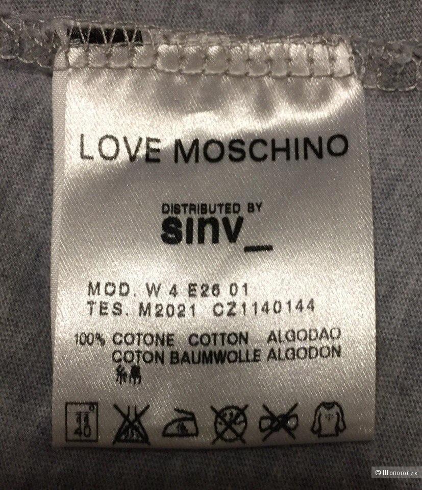 Свитшот Love Moschino 42 размер