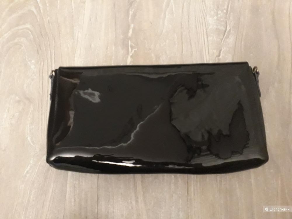 Кожаный клатч MaXi 30 на 15 см