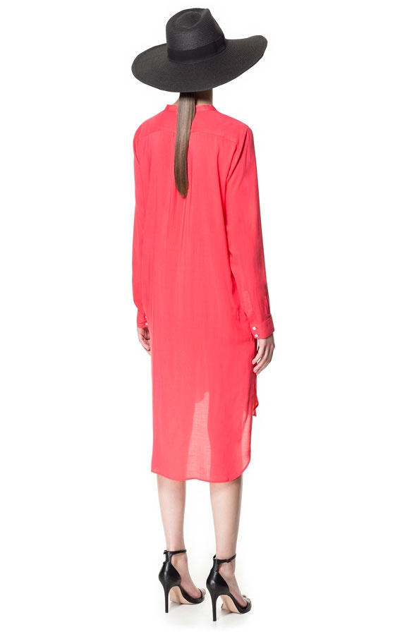 Платье туника ZARA BASIC размер S