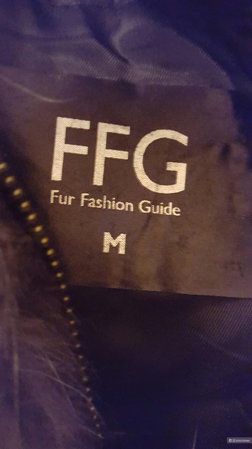 Меховая жилетка FFG, размер М.