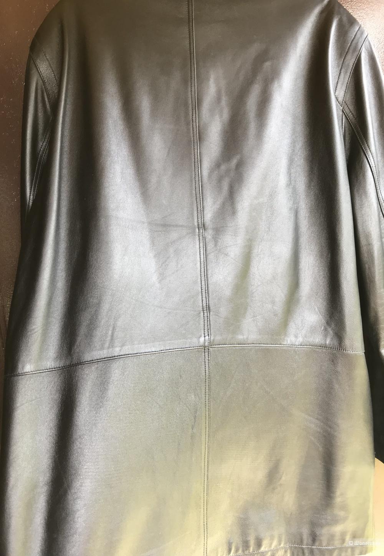Кожаная куртка Massimo Dutti 48-50 RU