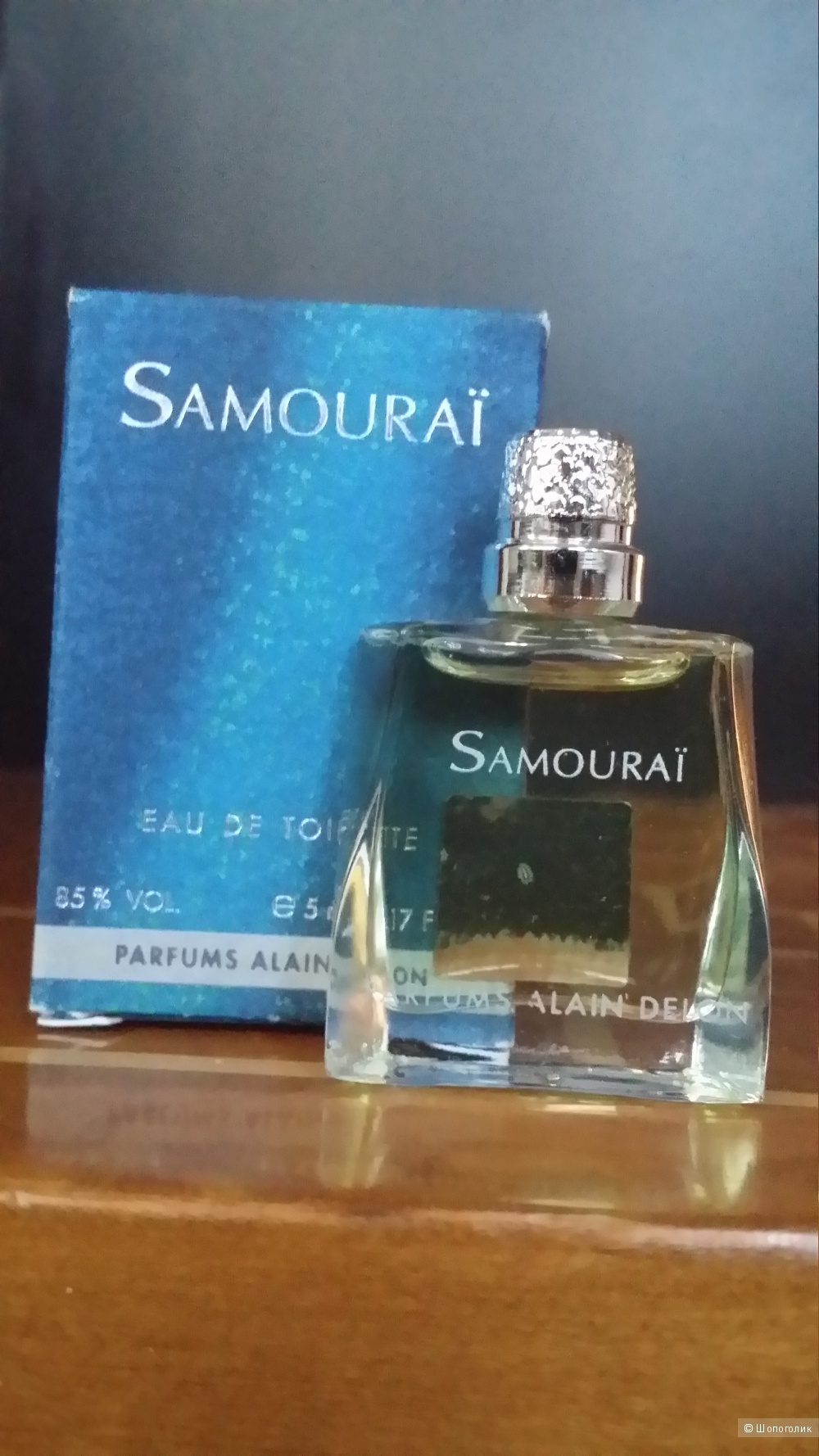 Миниатюра Samourai Men от Alain Delon 0.17oz / 5ml EDT