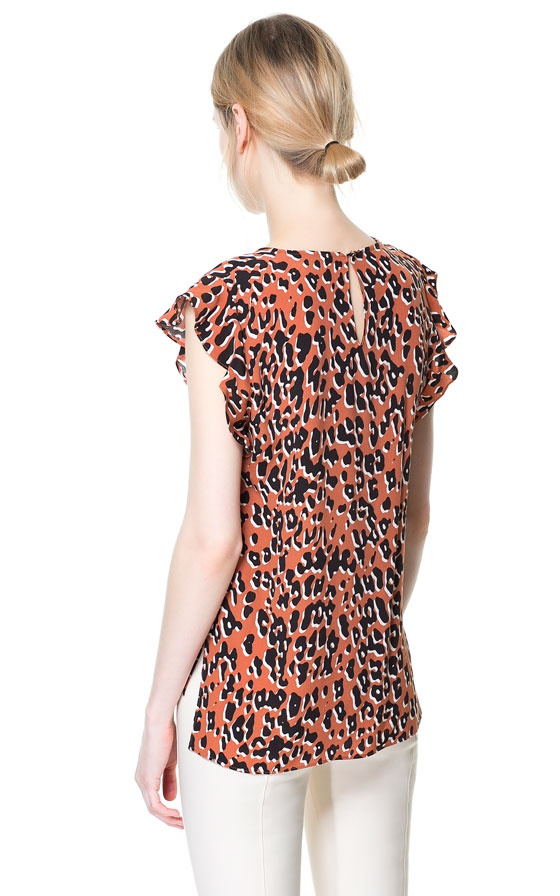 Блузка ZARA WOMEN размер XS