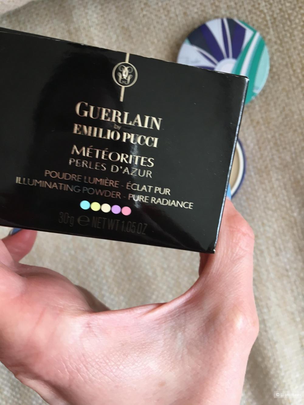 Пудра в шариках Guerlain Perles d'azure