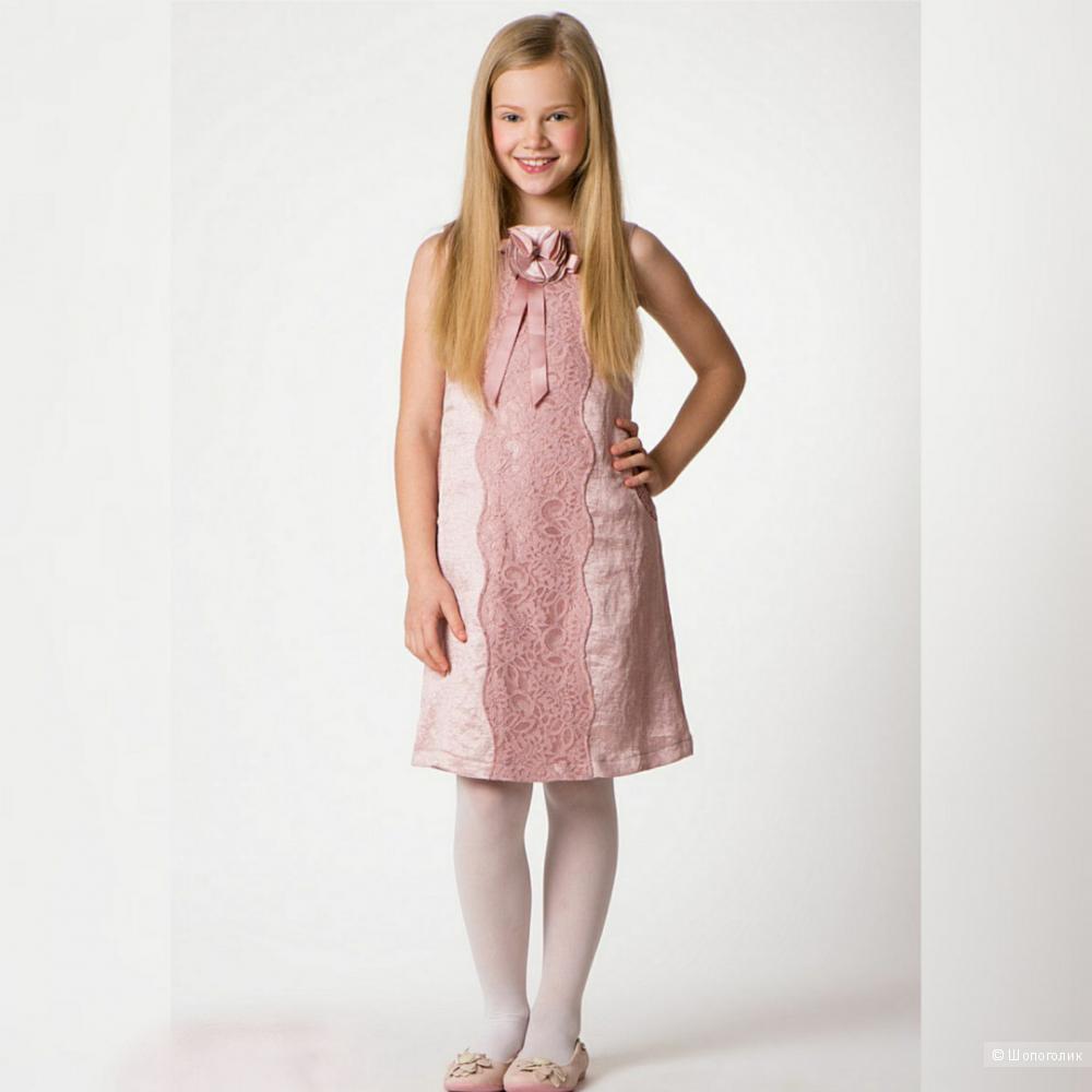 Платье для девочки Lemur ,  размер 140 (7-10 лет)
