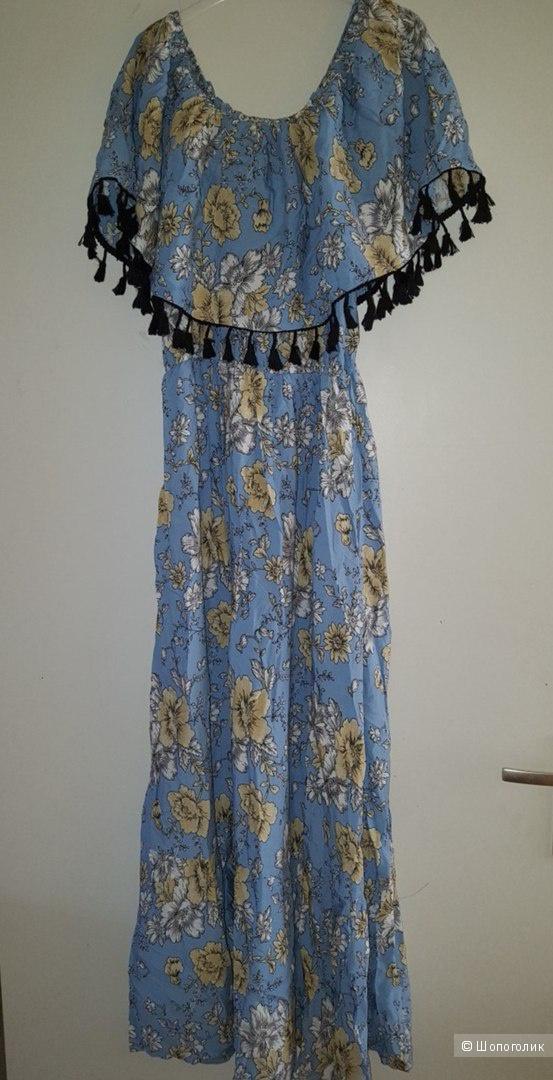 Платье макси  Boohoo . Размер 42-44-46
