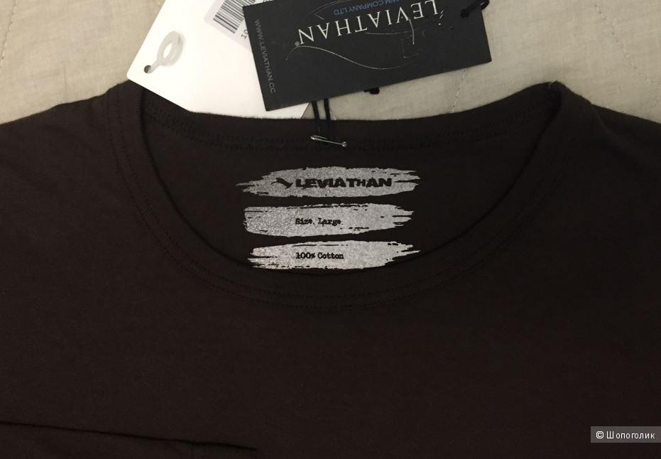 LEVIATHAN  футболка с длинными рукавами р.L