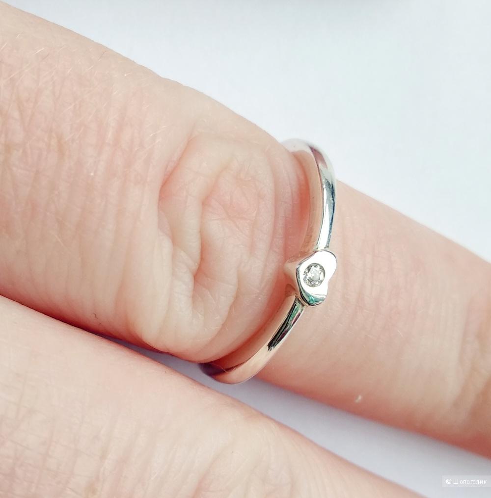 Кольцо, серебро 925, безразмерное