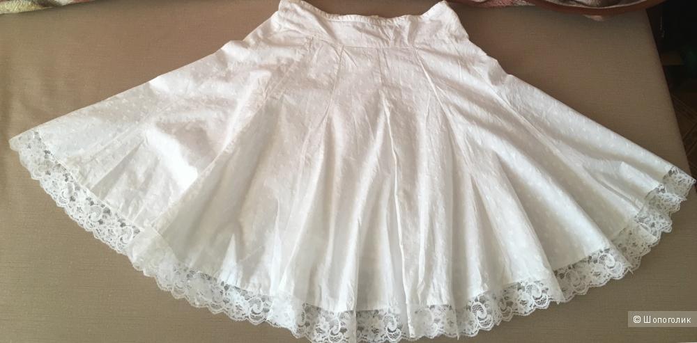 Белая юбка-двенадцатиклинка Reflex, S