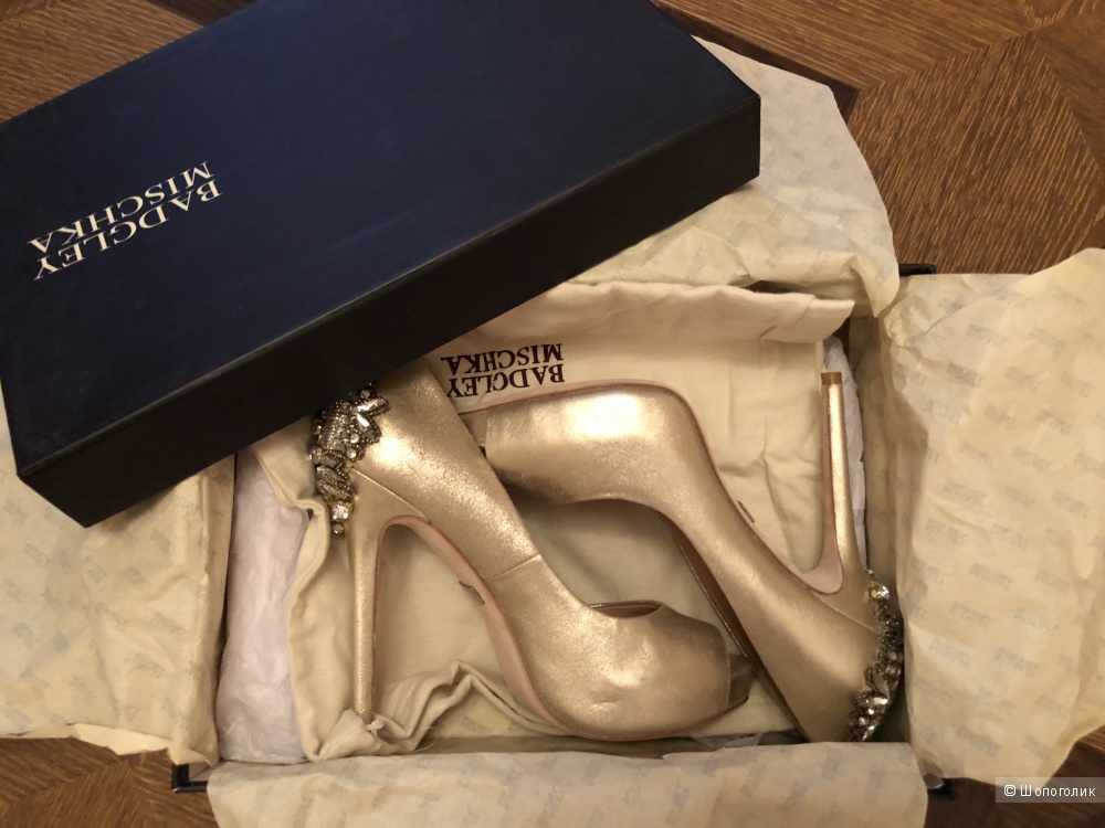 Туфли badgley mischka 36,5 размер
