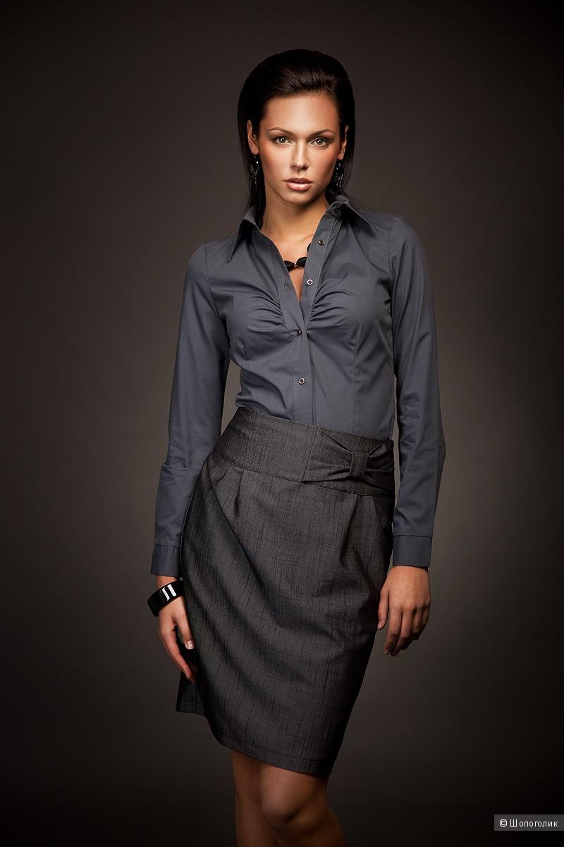 Шелковая рубашка by jbs premium, размер 40-42
