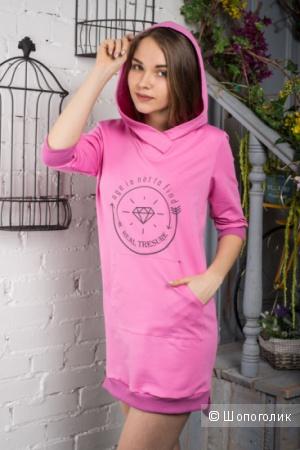 Платье-толстовка Mix-Mode размер 46