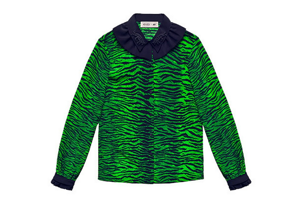 Блуза Kenzo for H&M, 38 размер