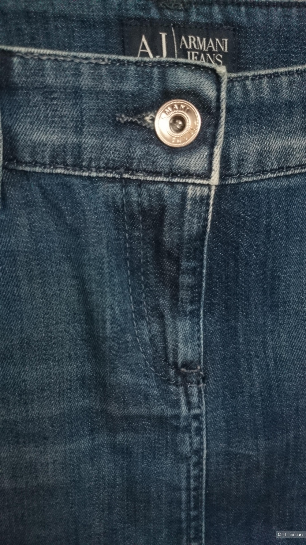 Джинсовая юбка Armani Jeans,  размер 42-46 (44I)