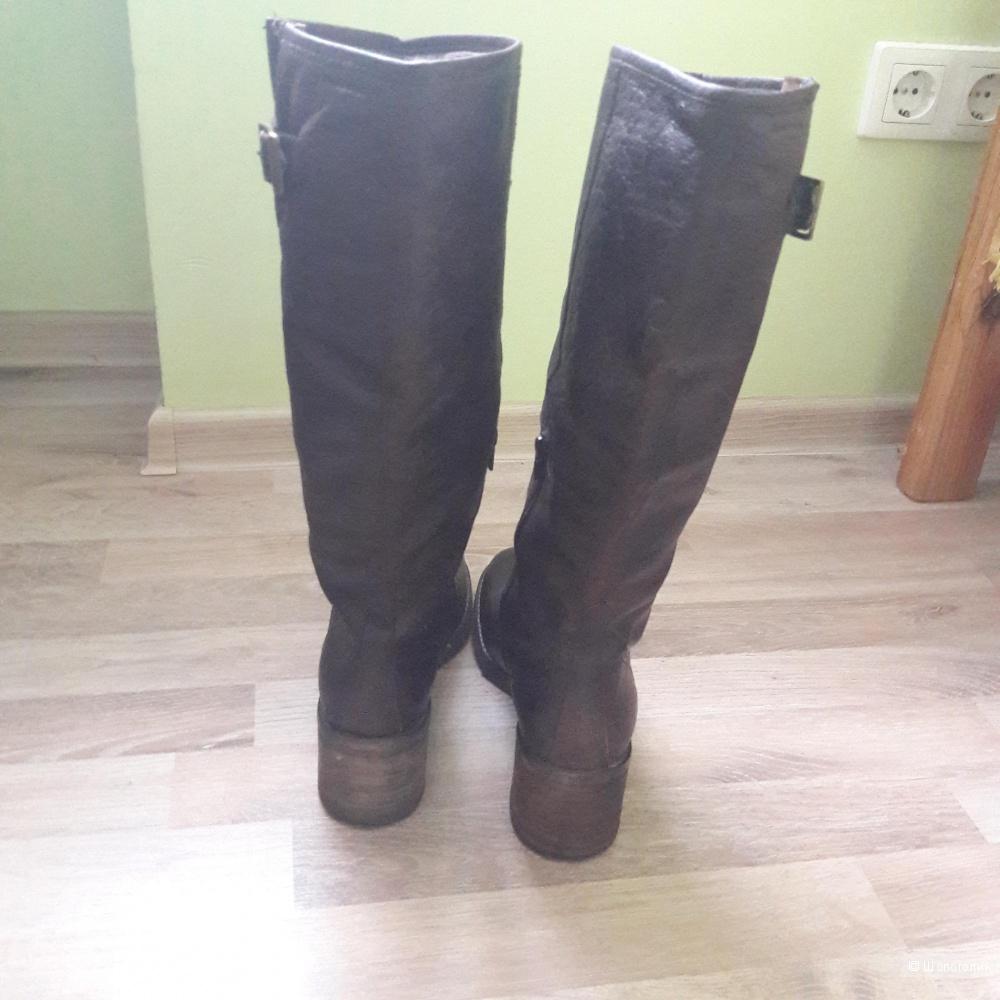 Кожаные сапоги Vagabond 40-41 размера