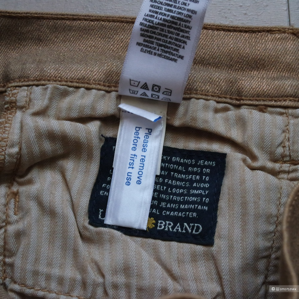 Джинсы Lucky Brand, р-р 25.