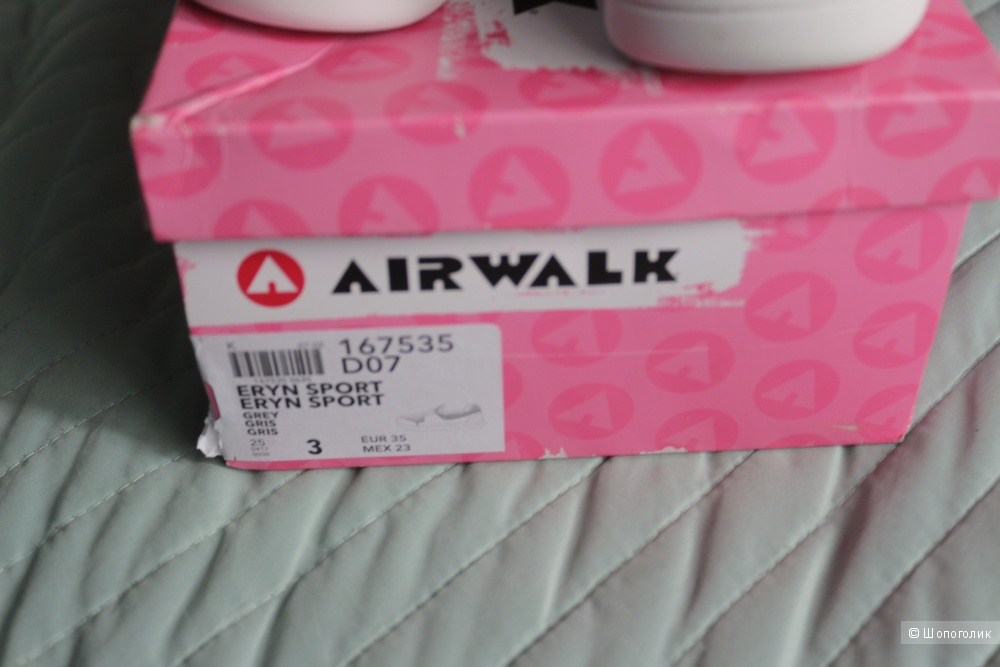 Слипоны  AIRWALK . размер 35
