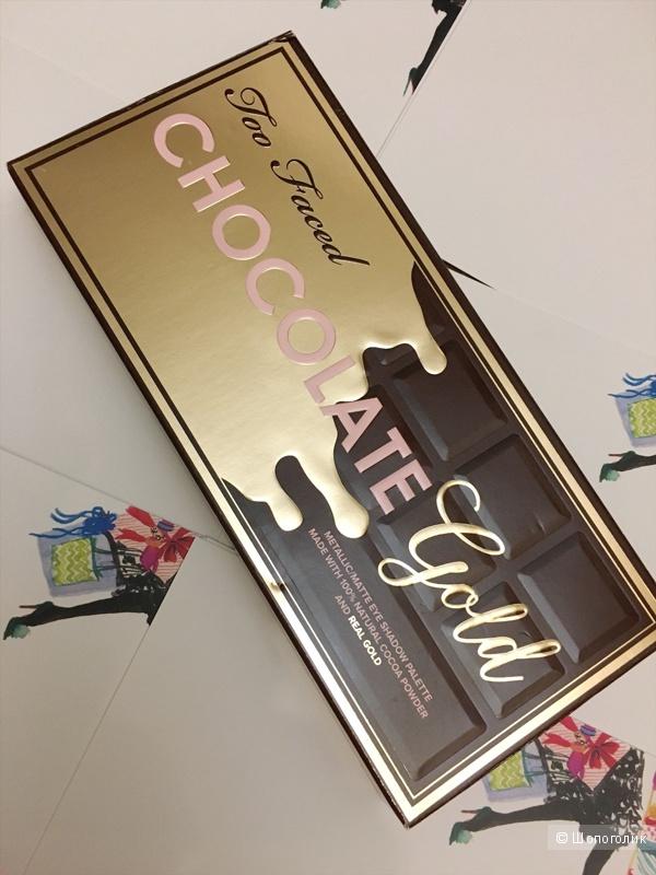 Лимитированная палетка Too Faced CHOCOLATE GOLD