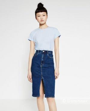 Юбка джинсовая Zara, размер L