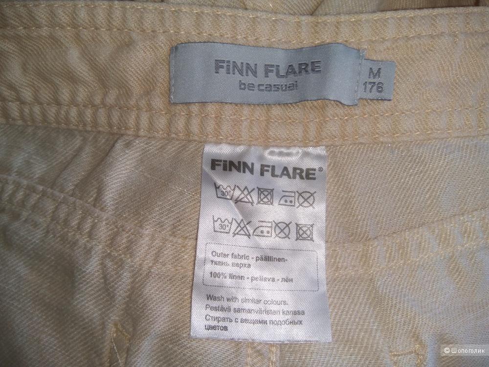 Брюки льняные Finn Flare. размер M