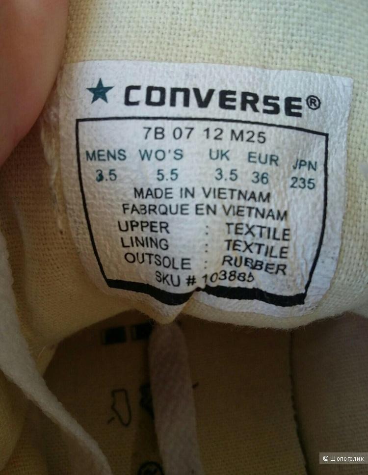 Кеды Converse  36 размер
