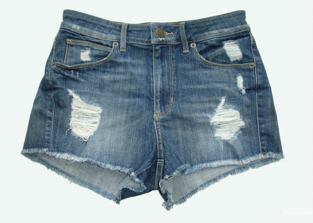 Сет: джинсовые шорты Guess (размер 26) и топ Michael Kors (XS)
