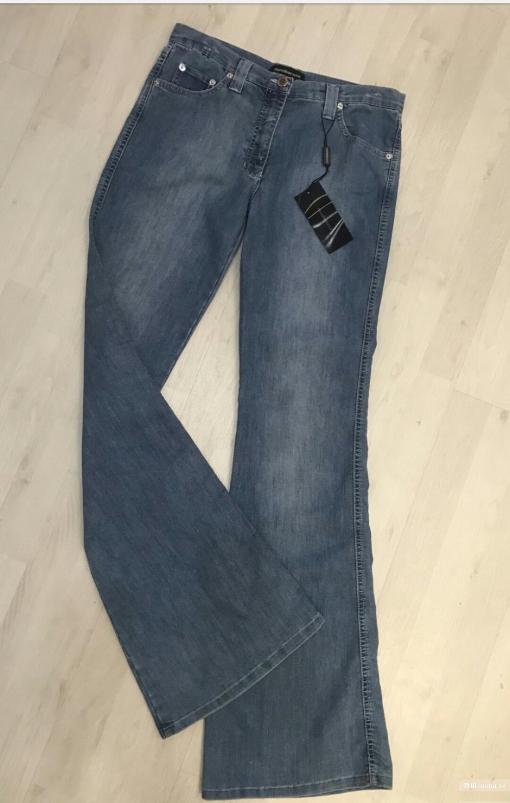 Пальто Mauritius,  джинсы Roccobarocco, р 46-48