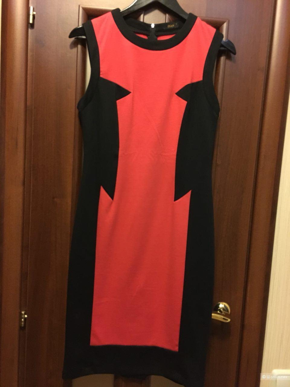 Платье-футляр, размер 46