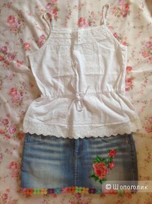 Комплект, юбка/Gloria Jeans + топ/Modis, разм. XS/S