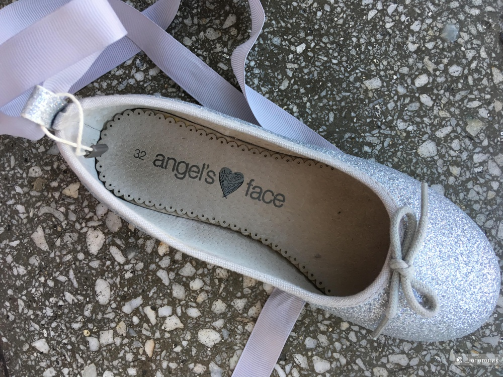 Кожаные балетки Angels Face, размер 32