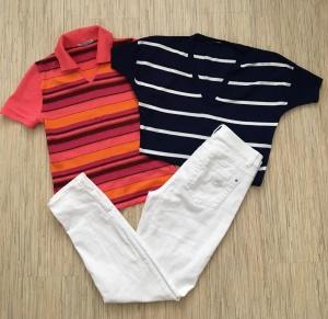 Комплект джинсы G.W., размер S+ Топ Tezenis, размер S+ Топ Somesul, размер S