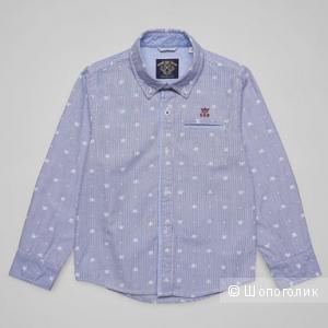 Рубашка Sarabanda  размер 7 лет