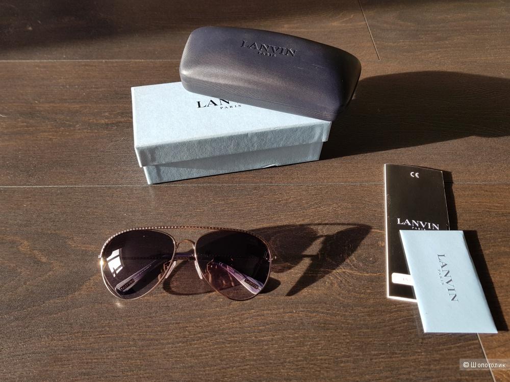 Lanvin очки солнцезащитные