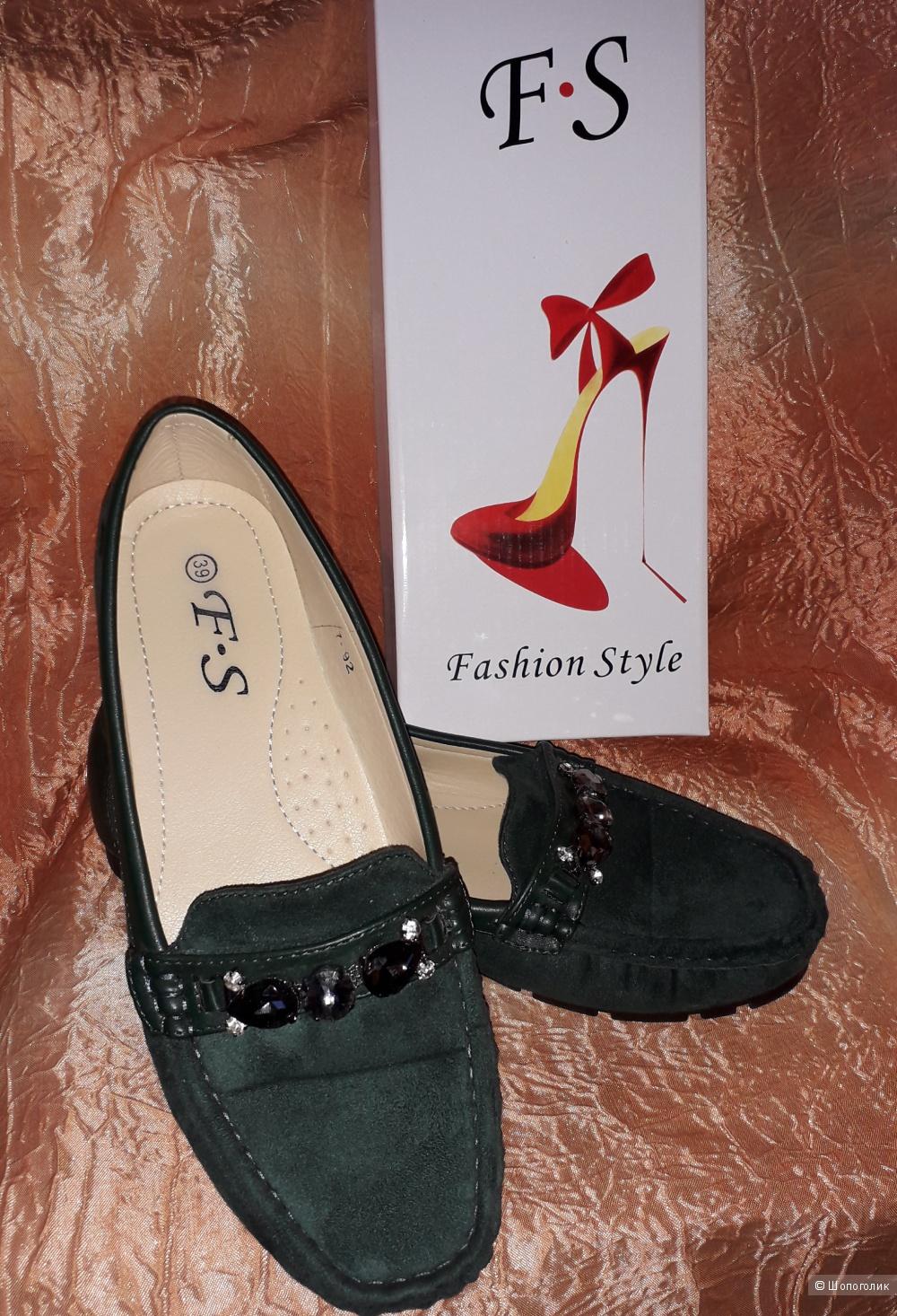 Балетки Fashion Style, р.39