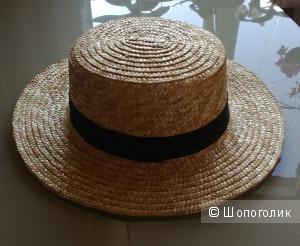 Шляпа канотье. Размер 57.