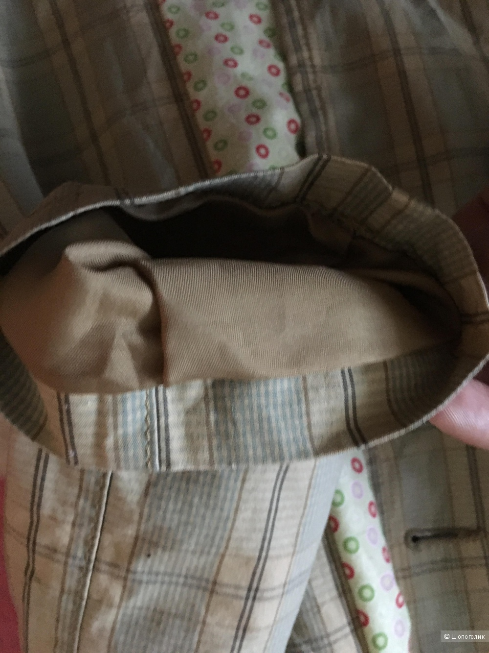 Тренч плащ Sisley, размер S