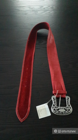 Ремень женский кожаный  ИТАЛИЯ  VERA PELLE размер 95/115