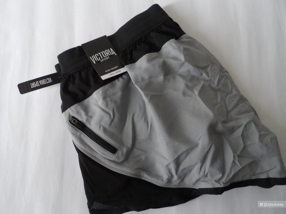 Cпортивные шорты Victoria's Secret из действующей коллекции - размер L