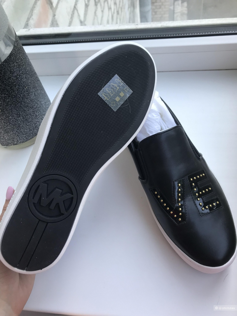 Слипоны Michael kors 8,5 us
