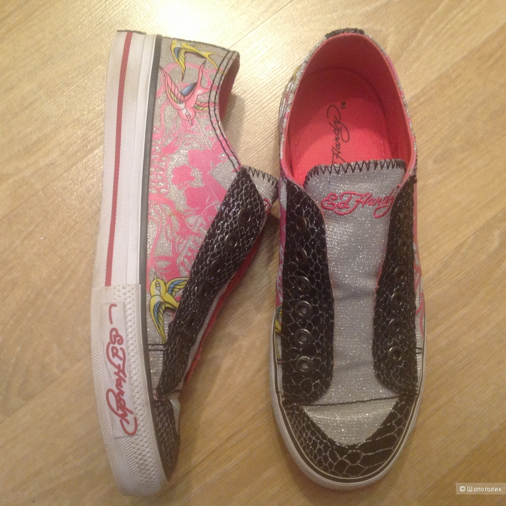 Кеды ED HARDY, 7us, 4.5uk, 24см