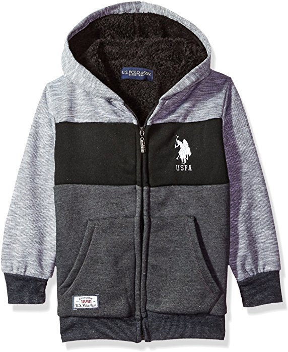 Толстовка на меху US Polo Assn, р.1-1.5 года