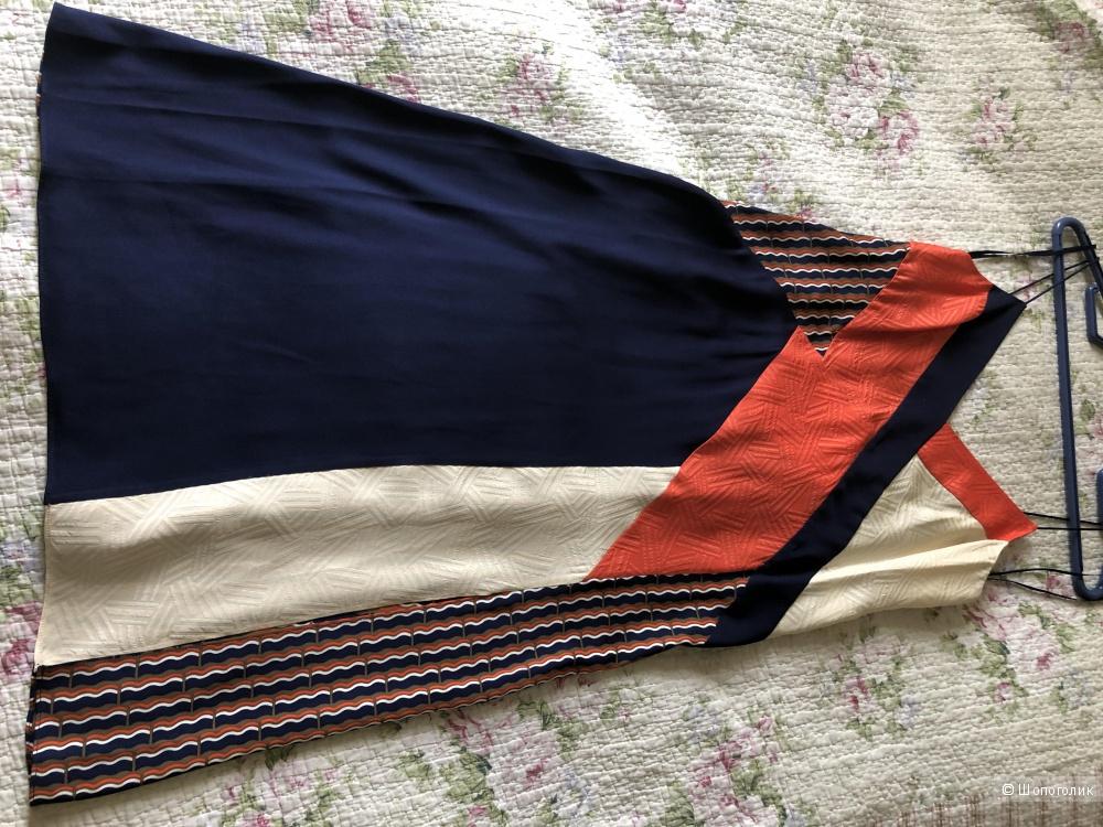 Шелковое платье DIANE VON FURSTENBERG р. 44 (6 US)