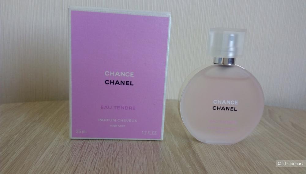 Парфюмированная вуаль для волос Chanel Chance Eau Tendre